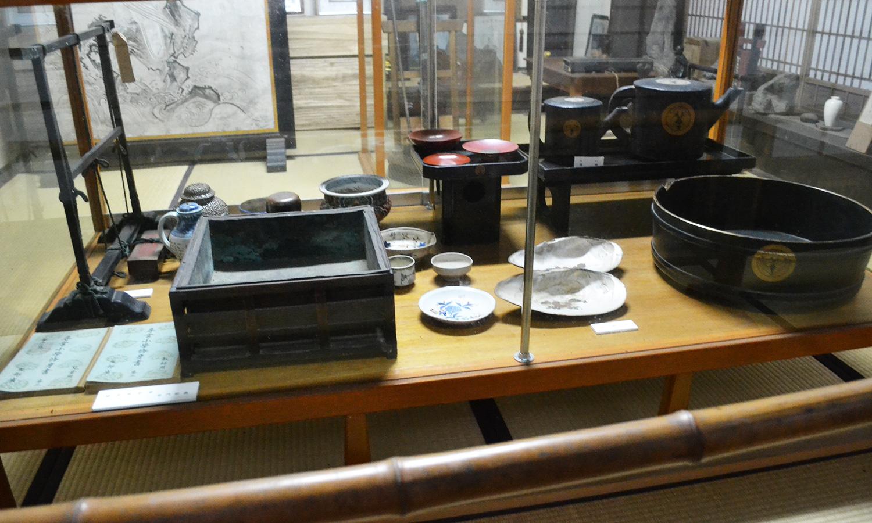 上杉鷹山公ゆかりの茶器